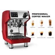 เครื่องชงกาแฟเปิดร้าน Professional เครื่องกาแฟCRM3600 15 Bar  2หม้อต้มทำงานร่วมกันทั้งสกัดกาแฟ และสตีมฟองนม ทำพร้อมกันได้ เครื่องชงกาแฟCommercial