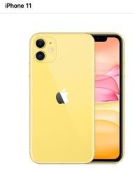 I PHONE 11 128G 黃色