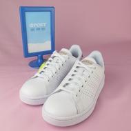 【iSport愛運動】adidas 愛迪達 ADVANTAGE 休閒鞋 F36223 女款 白x玫瑰金
