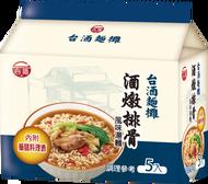 【台酒TTL】酒燉排骨風味湯麵(袋麵) 30袋/箱 泡麵 速食麵