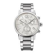 讚款Ck手錶男士商務時尚鋼帶三眼計時多功能日曆男錶K7627161 高檔男錶 CK腕錶 CK手錶 精品