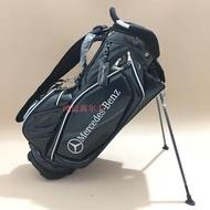新款高爾夫支架包Bercedes-Benz高檔水晶面料男女款防水golf球包 晴天優品
