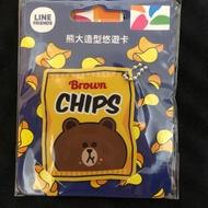 Line熊大造型悠遊卡