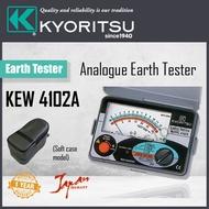 Kyoritsu  4102A Analog Earth Tester W/Soft Case