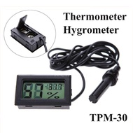 LCD Digital Fridge Thermometer And Probe - Fridge Freezer Temperature Quality