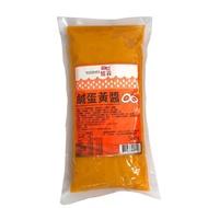現貨+當天出 憶霖鹹蛋黃醬 500公克 超夯金沙料理鹹蛋炒拌都適用 流沙鹹蛋黃醬