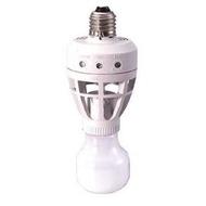 遠紅外線人體感應燈頭(感應燈)-人到燈就亮(可裝省電燈管) 紅外線感應器
