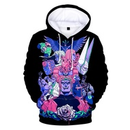 Prowow Anime Jojo Hoodies /Sweatshirt Pullovers Streetwear Jojo Tops Pop Anime People Hoodies