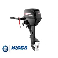 Ready Stock 9.8hp Hidea High Quality Outboard Engine with Free 2T Enjin Bot Boat Fishing Short Shaft 15INCH