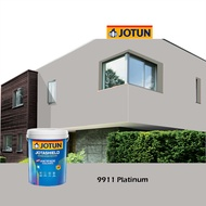 0587 Dragon Red 1L Jotun Jotashield Antifade Colours Exterior Wall Paint Outdoor Cat Dinding Luar Rumah LittleThingy