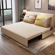 ▼☊■Folding sofa bed sitting room double dual multi-function
