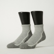 Footer除臭襪-流線型氣墊減壓科技襪-六雙入(灰*6)