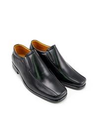 รองเท้าคัชชูหนังแท้   รุ่น LBD6000-51 สีดำ
