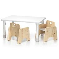台灣 愛兒館 ilovekids 我的第一張小桌子+椅子x2