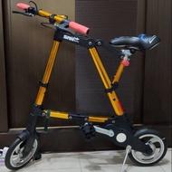 **免運**~二手95成新~城市10吋折疊式腳踏車/迷你自行車/非Abike