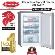 EuropAce Compressor Upright Freezer (EFZ 3081T) /  5 YEARS WARRANTY ON COMPRESSOR
