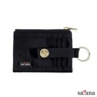 【satana】Soldier 繽紛卡片夾/零錢包(黑色)