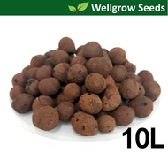 10L LECA 10-20mm (Clay Pebbles / Clay Balls / Hydroton) 陶粒(细)  for Hydroponics & Aquaponics / Mulching Use