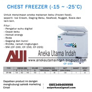 RSA CHEST FREEZER TYPE CF-150/FREEZER BOX/PETI PEMBEKU/FREEZER
