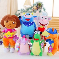 動漫冒險DORA娃娃猴子和松鼠動物娃娃嬰兒毛絨玩具