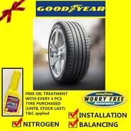 Goodyear Eagle F1 Asymmetric 3 SUV tyre tayar tire(With Installation)245/50R20 255/50R20 295/40R20 265/45R21 285/40R21