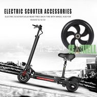 Electric Scooter Solid Rear Wheel Back Tire Tyres w/Wheel Hub for Kugoo S1 S2 S3