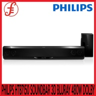 PHILIPS SOUNDBAR HTB7150 SOUNDBAR 3D BLURAY HOME THEATRE SYSTEM 480W DOLBY DIGITAL 5.1
