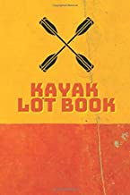 Kayak Log Book: Log book for the red vibe mini kayak kayaks hunting fishing journal
