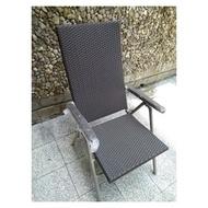 台灣外銷 SOWSHINI EUROPE 編織藤椅 海灘椅 藤椅 躺椅 特殊設計 緊密編織 堅固好坐