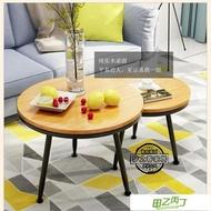北歐現代簡約實木茶几床頭桌沙發邊桌小圓桌小茶几角几邊几
