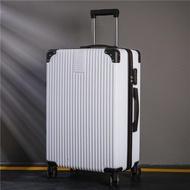 """กระเป๋าเดินทาง20 """"22"""" 24 """"26"""" 28 """"กระเป๋าเดินทางเรโทรกระเป๋าเดินทางความจุสูงกระเป๋าลากกระเป๋าเดินทางกระเป๋าเดินทาง S กับล้อ"""