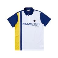 FILA 男短袖POLO衫-深藍 1POU-1483-DB