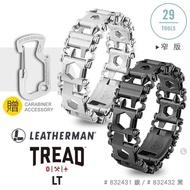 【Leatherman】TREAD LT 工具手鍊-窄版(銀色 832431 / 黑色 832432)