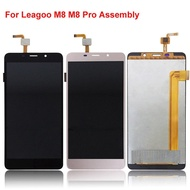 LCD Display LCD Screen For Leagoo M8 M8 Pro Replacement Parts + Disassemble Tool