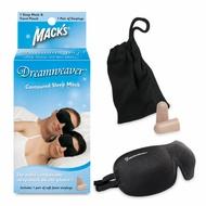 【淺眠者快速恢復套件】美國原裝進口 ~ Mack's Contoured Sleep Mask【眼罩耳塞組】黑