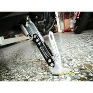 『六扇門』限量贈 鍍鈦彈簧 靈獸全可調 雙色邊柱組 邊架 腳架 側柱 Nwe Cuxi 110 115 GTR aero