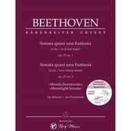 【凱翊︱BA】〔貝多芬〕BEETHOVEN Sonata quasi una Fantasia op.27 no.1