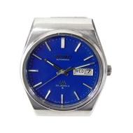 機械錶 [SEIKO LM720309] 精工LM錶[23石][藍色面]不銹鋼/時尚/中性/軍錶