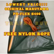 6ft x 10ft MARUYAMA / RUBBERIZED CAN LAST UP TO 10 YEARS TRAPAL TOLDA LONA TARPAULIN