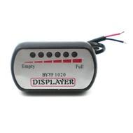 EBike Voltmeter Battery Bicycle Indicator Capacity Display 48V