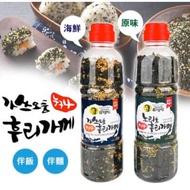 韓國海苔芝麻香鬆原味海鮮