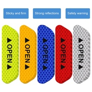 *AE Door Stickers Reflective Stickers Safety Warning Stickers Reflective Film 07-04