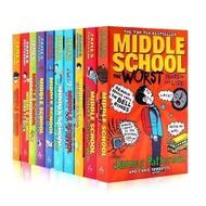 Middle School (10 เล่ม) ChapterBook หนังสือภาษาอังกฤษสำหรับเด็ก - English books for children (10 books)