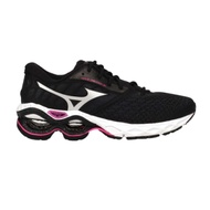MIZUNO WAVE CREATION 21 女慢跑鞋- 路跑 運動 美津濃 J1GD200116 黑銀桃紅