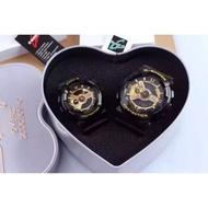 【芳妹代購 】CASIO G-SHOCK Baby-G GA-110卡西歐運動電子手錶  美國隊長情侶款