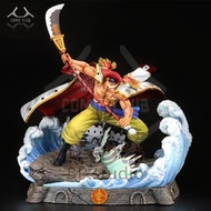 IN-STOCK one piece BP studio Four Emperors White beard  gk resin statue figure toy for collection.