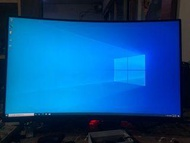 ASUS XG32VQ 2k 144hz 32曲面螢幕 ROG