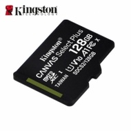 【Kingston 金士頓】Canvas Select Plus microSD SDXC 128GB 記憶卡(手機記憶卡)