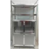 Aluminum kitchen cabinet / Dish organizer / Dish cabinet