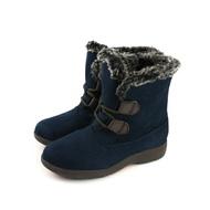 Moonstar Eve 短靴 保暖 深藍色 女鞋 EVWPL0555 no203